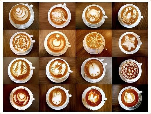 关于咖啡拉花,你只需要知道这么多