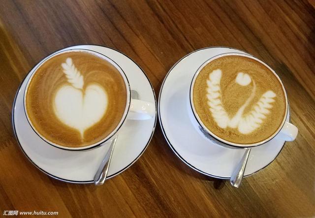 那些神奇美丽的咖啡拉花 怎么舍得喝下?