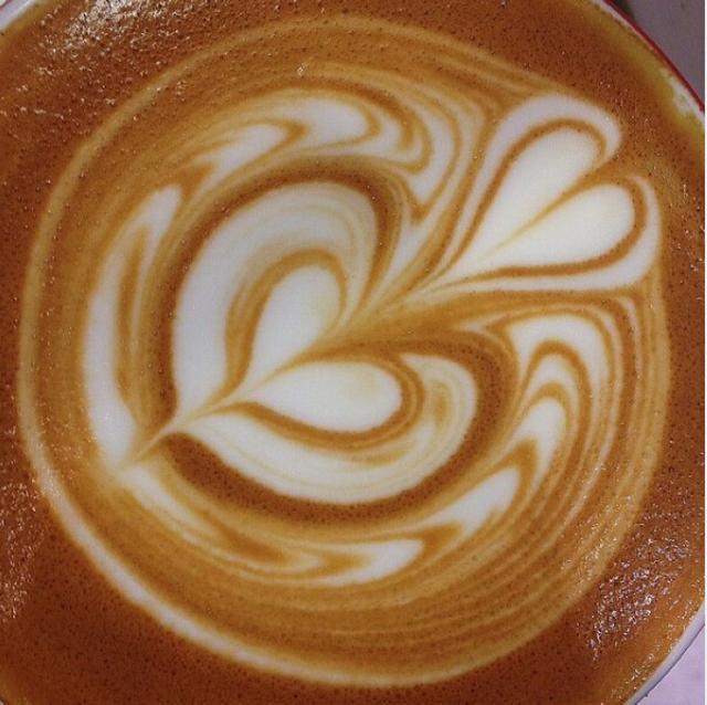 拉花控收图:那些高难度的咖啡拉花作品