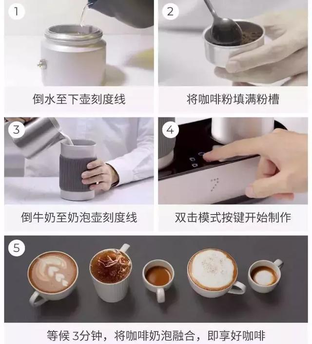 可移动的咖啡馆,3分钟搞定一杯纯正香浓的拉花咖啡