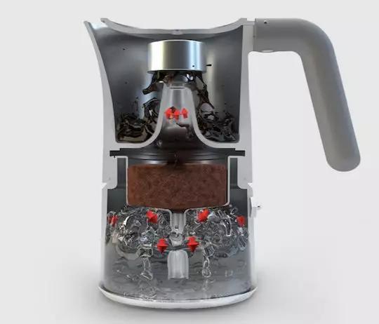 煮咖啡、打奶泡,同时完成。宅家里3分钟自制花式咖啡